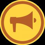 Kuvituskuva: megafoni